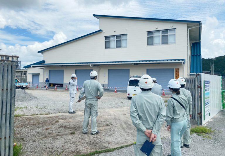 川内川かわまちづくり交流拠点施設新築工事