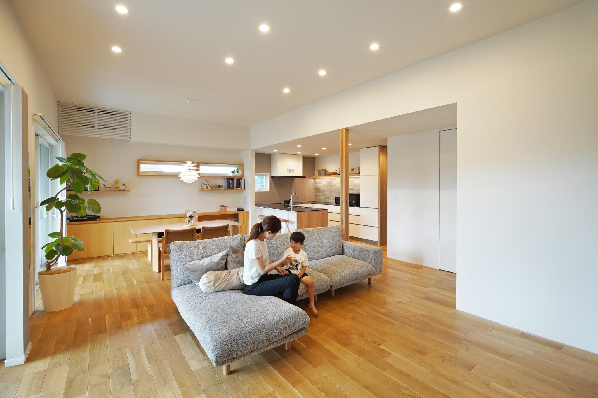 シンプルで上質な家