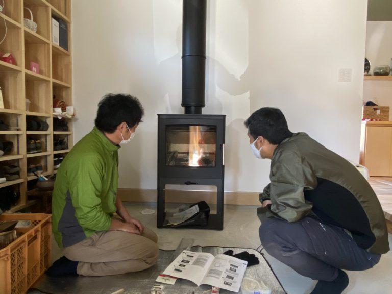 H邸 暖炉火入れ式